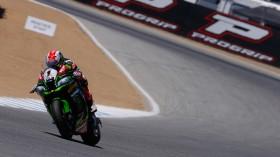 Jonathan Rea, Kawasaki Racing Team, LAguna Seca FP2