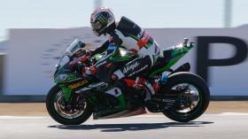 Jonathan Rea, Kawasaki Racing Team, Laguna Seca FP1