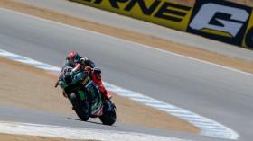Tom Sykes, Kawasaki Racing Team, Laguna Seca FP1