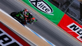 Tom Sykes, Kawasaki Racing Team, Laguna Seca FP2