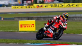 Chaz Davies, Aruba.it Racing - Ducati, Lausitz FP1