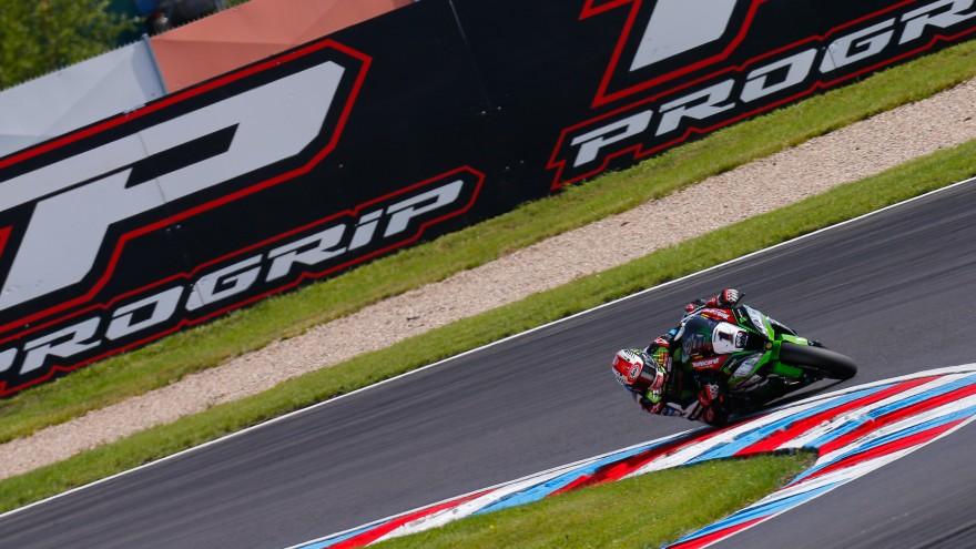 Jonathan Rea, Kawasaki Racing Team, Lausitz FP1