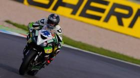 Gino Rea, Team Kawasaki Go Eleven, Lausitz FP1