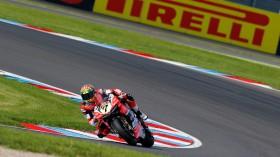 Chaz Davies, Aruba.it Racing - Ducati, Lausitz FP2
