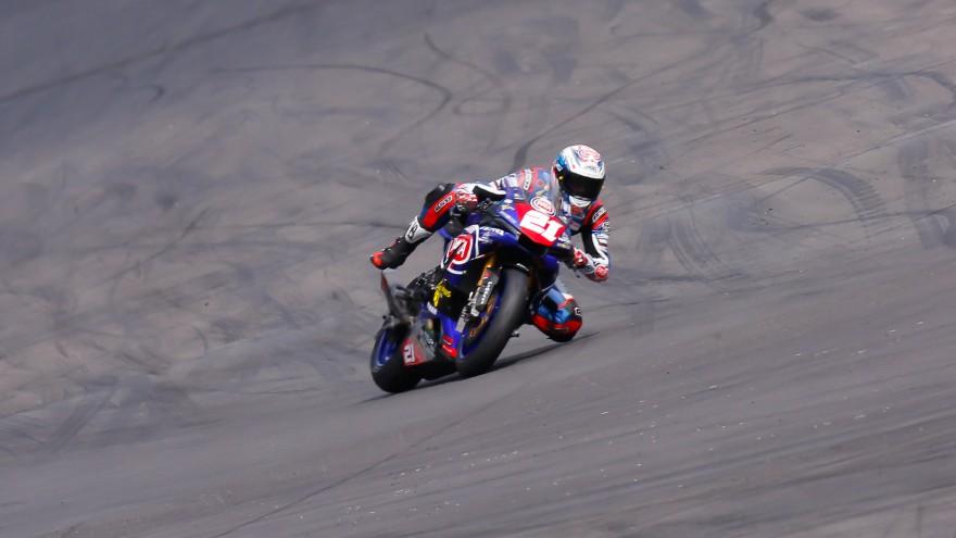 Florian Marino, PATA Yamaha Official STK 1000 Team, Lausitz RAC