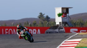 Tom Sykes, Kawasaki Racing Team, Algarve FP1