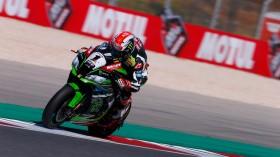 Jonathan Rea, Kawasaki Racing Team, Algarve FP2