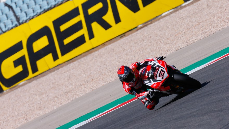 Marco Melandri, Aruba.it Racing - Ducati, Algarve FP2