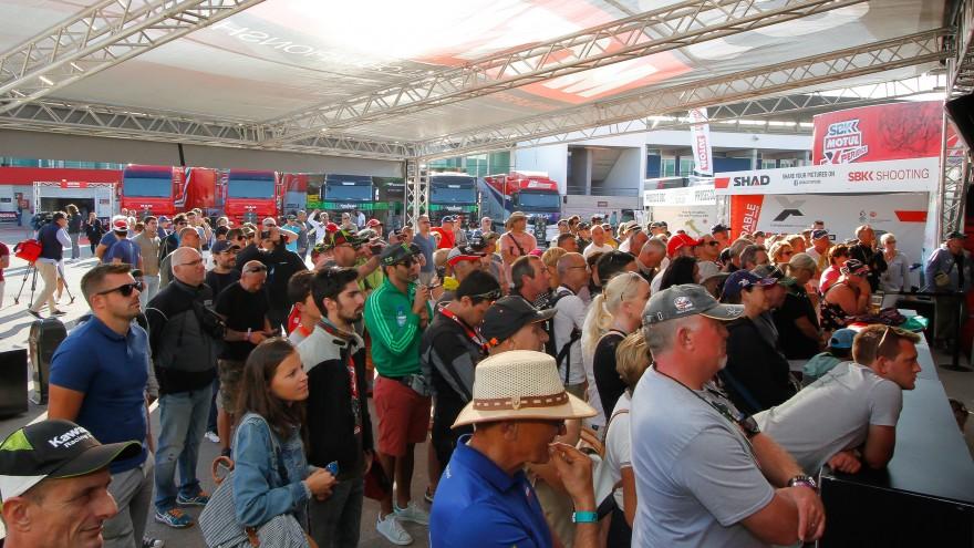 WorldSBK, Algarve Friday