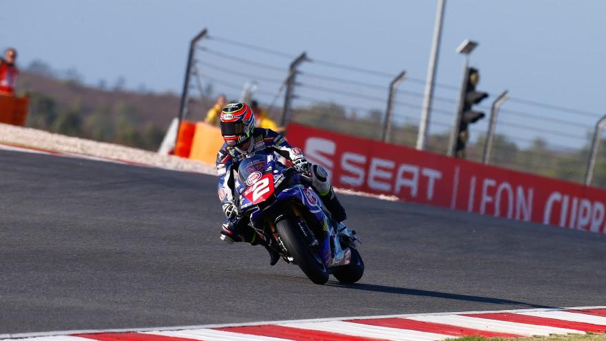 Roberto Tamburini, PATA Yamaha Official STK 1000 Team, Algarve RAC