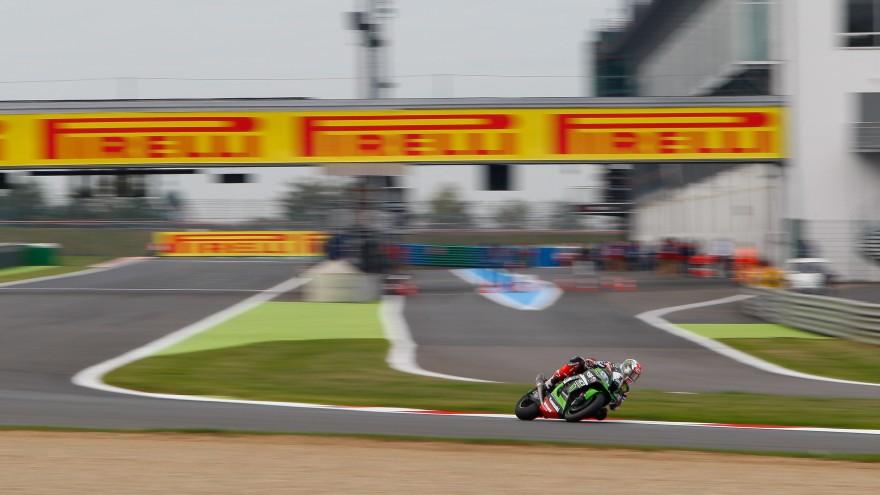 Jonathan Rea, Kawasaki Racing Team, Magny-Cours FP1