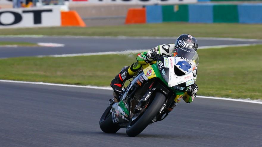 Gino Rea, Team Kawasaki Go Eleven, Magny-Cours FP2
