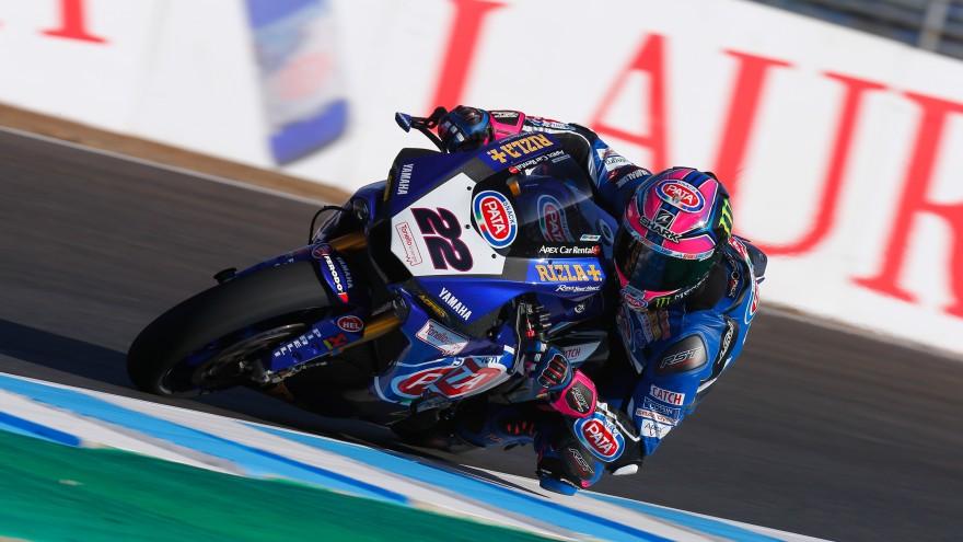 Alex Lowes, PATA Yamaha Official WorldSBK Team, Jerez FP1