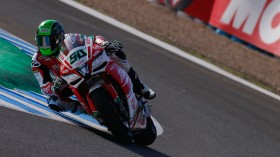 Eugene Laverty, Milwaukee Aprilia, Jerez FP2