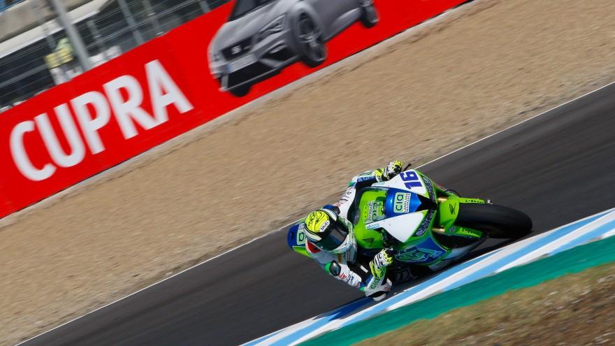 Jules Cluzel, CIA Landlord Insurance Honda, Jerez FP2