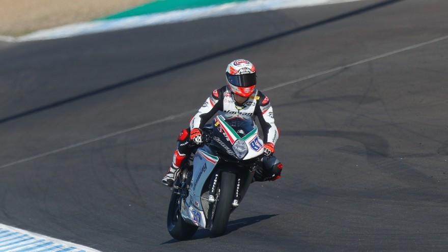 Lorenzo Zanetti, Team Factory Vamag, Jerez FP2