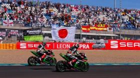 Rea, Sykes, Kawasaki Racing Team, Jerez RAC2