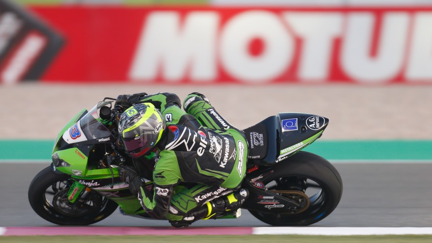 Anthony West, Kawasaki Puccetti Racing, Losail FP1
