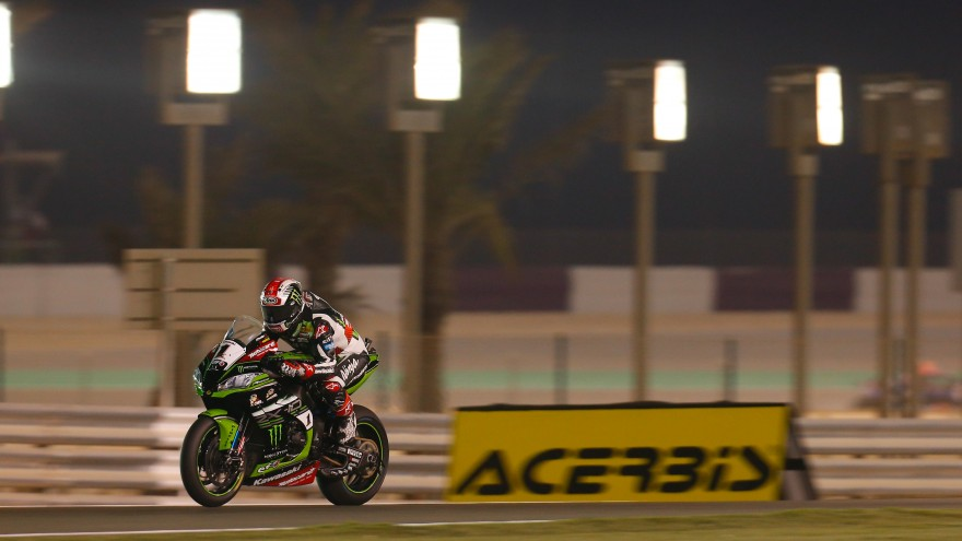 Jonathan Rea, Kawasaki Racing Team, Losail FP1