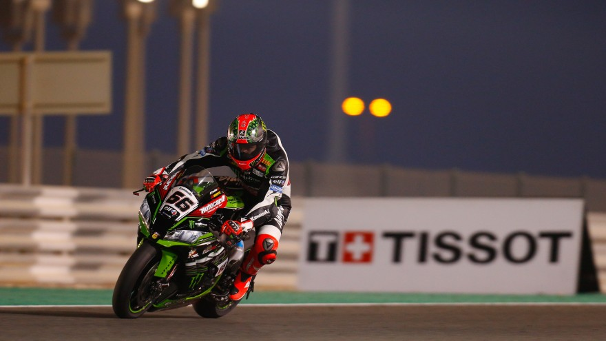 Tom Sykes, Kawasaki Racing Team, Losail FP1
