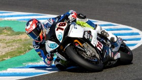 Loris Baz, Althea BMW Racing Team, Jerez Test day 1
