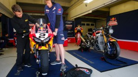 Leon Camier, Red Bull Honda World Superbike Team, Jerez Test day 3
