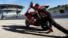 Chaz Davies, Aruba.it Racing - Ducati, Jerez Test day 3