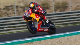 Jake Gagne, Red Bull Honda World Superbike Team, Jerez Test day 1