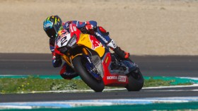 Leon Camier, Red Bull Honda World Superbike Team, Jerez Test day 1