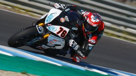 Loris Baz, GULF ALTHEA BMW Racing Team, Jerez test day 1