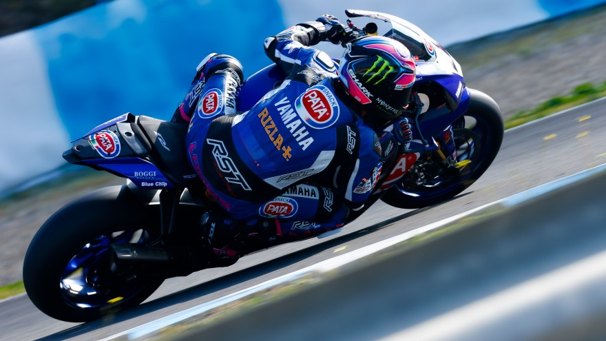 Alex Lowes, Pata Yamaha Official WorldSBK Team, Jerez Test day 1