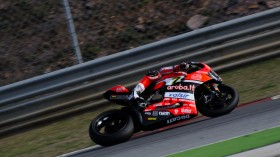 Chaz Davies, Aruba.it Racing – Ducati, Portimao Test day 1