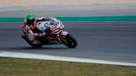 Eugene Laverty, Milwaukee Aprilia, Portimao Test day 1