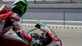 Eugene Laverty, Milwaukee Aprilia, Portimao Test day 2