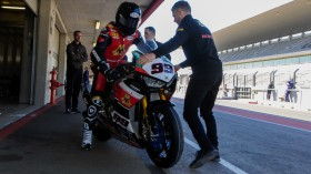 PJ Jacobsen, TripleM Honda World Superbike Team, Portimao Test day 2