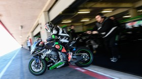 Tom Sykes, Kawasaki Racing Team, Portimao Test day 2