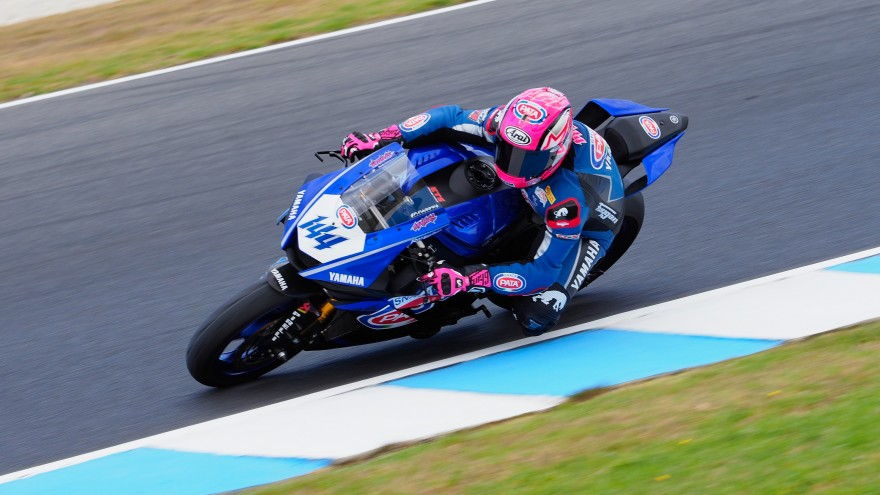 Lucas Mahias, GRT Yamaha Official WorldSSP Team, Phillip Island Test day1