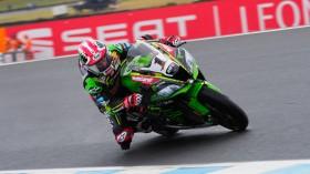Jonathan Rea, Kawasaki Racing Team, Phillip Island FP1
