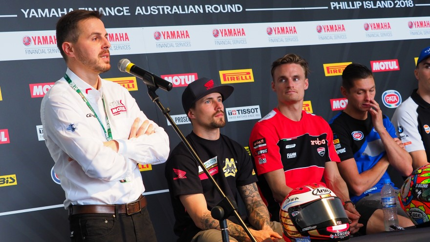 Official WorldSBK Launch