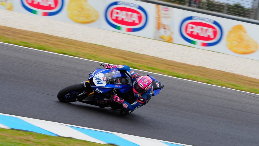 Lucas Mahias, GRT Yamaha Official WorldSSP Team, Phillip Island FP2