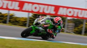 Jonathan Rea, Kawasaki Racing Team WorldSBK, Phillip Island RAC1