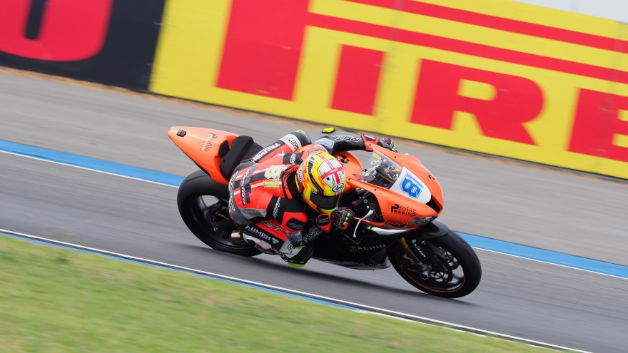 Luke Stapleford, Profile Racing, Buriram FP2