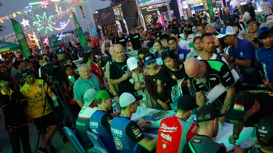 WorldSBK Autograph Session Buriram