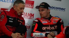 Chaz Davies, Aruba.it Racing - Ducati, Aragon FP3