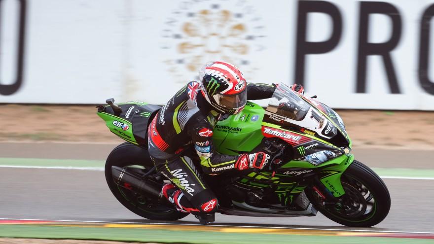 Jonathan Rea, Kawasaki Racing WorldSBK, Aragon FP1