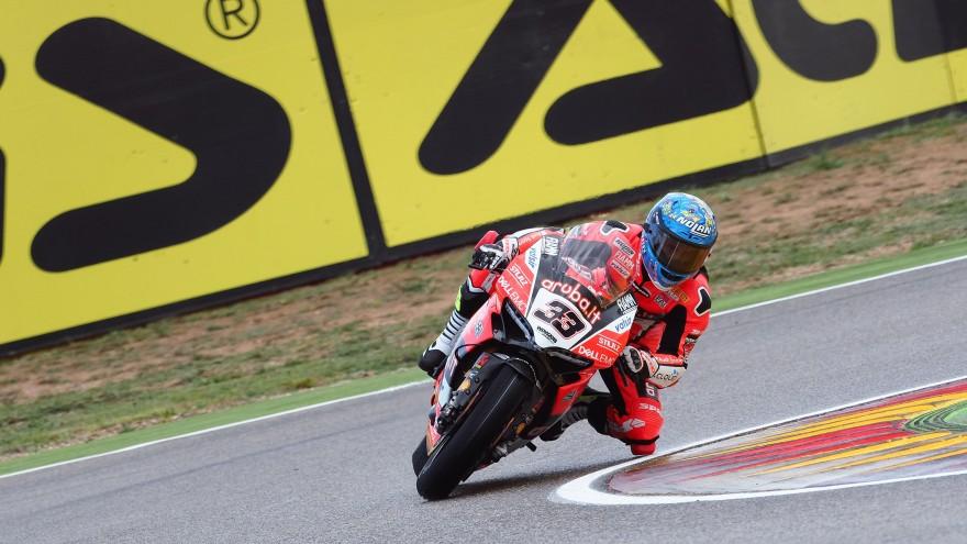 Marco Melandri, Aruba.it Racing – Ducati, Aragon FP1