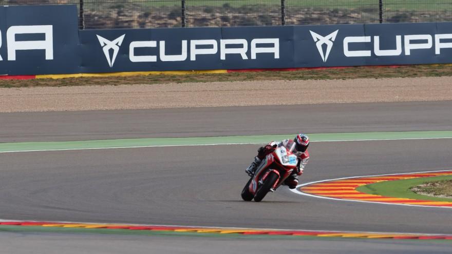 Ayrton Badovini, MV Agusta Reparto Corse by Vamag, Aragon FP2