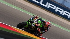 Jonathan Rea, Kawasaki Racing WorldSBK, Aragon FP2