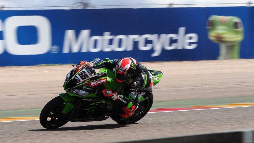 Tom Sykes, Kawasaki Racing WorldSBK, Aragon FP2