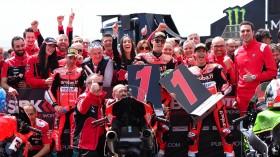 Chaz Davies, Marco Melandri, Michael Ruben Rinaldi, Aruba.it Racing - Ducati, Aragon RAC2